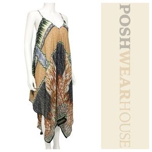 Dresses & Skirts - Multi-Colored Layered Handkerchief Dress